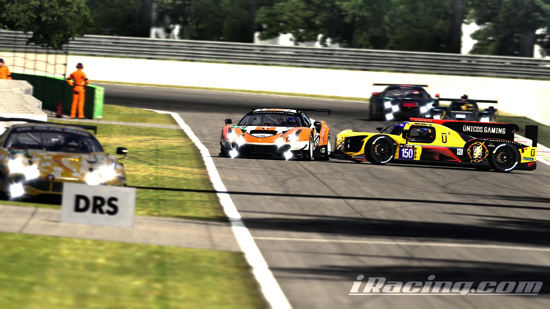 LSR Motorsport Grey - Rudy Lagneau, David Nury - EES : 06H00 Monza (iRacing S02-21)